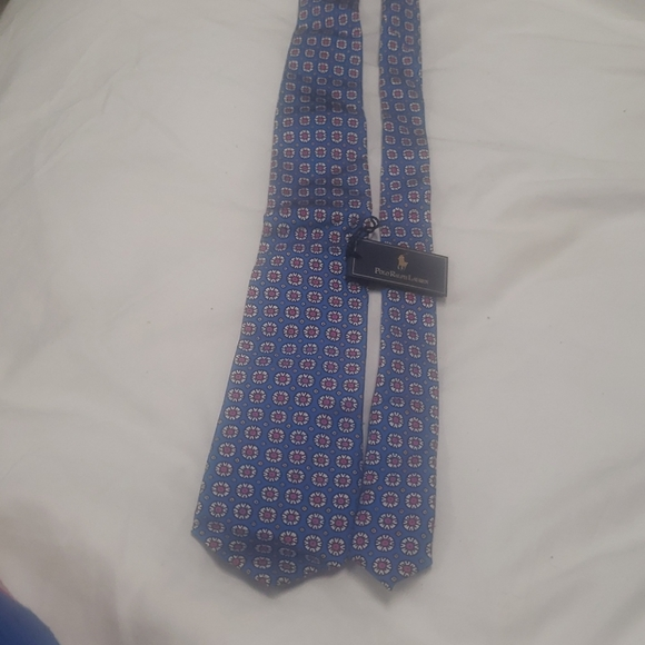 Multi colored Hand made Polo Ralph lauren Tie